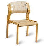 Visitor Chair Kit - 'Devon' 4 Leg (STOCK RUN OUT $45)