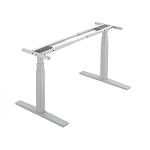 Electric Desk - 2 Leg (White) *STOCK RUN OUT ONLY $440*